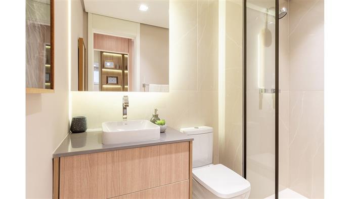 Foto do Banheiro do decorado