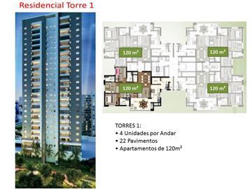 Ref: Cidade Viva - Apartamento com 4 dorms, em Condomínio Cidade Viva / Santo André. Bairro Jardim Grande oportunidade!