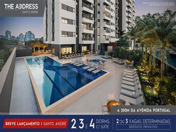 Ref: The Adress Santo André 3 ou 4 dormitórios  Vila Gilda Antecipe-se ao lançamento e negocie direto com a Construtora