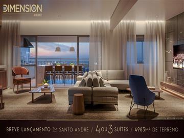 Ref: Dimension Prime Santo André 4 suítes oi opção de 3 suítes Vila Gilda Aproveite condições especiais, planos facilitados e flexibilidade nas parcelas.